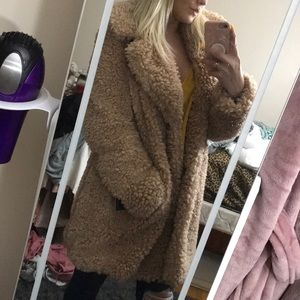Kensie Fur Coat